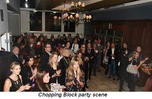 Blog 4 - Chopping Block party scene