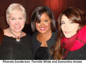Blog 1 - Rhonda Sanderson Tennille White and Samantha Amato