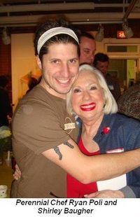 Blog 1 - Perennial Chef Ryan Poli and Shirley Baugher