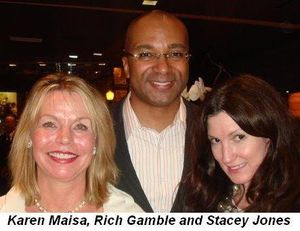 Blog 3 - Karen Maisa, Rich Gamble and Stacey Jones