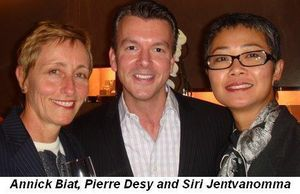 Blog 4 - Annick Biat, Pierre Desy and Siri Jentvanomma