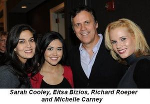 Blog 4 - Sarah Cooley, Eitsa Bizios, Richard Roeper and Michelle Carney