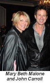 Blog - Mary Beth Malone and John Carroll