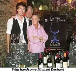 Blog 5 - With handsome Michael Dechant