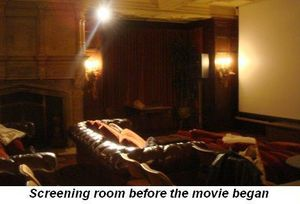 Blog 3 - Screening room before movie began