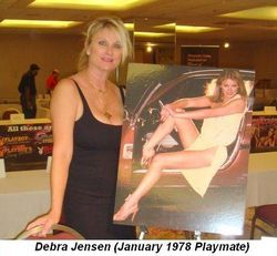 Blog 7 - Playmate Debra Jensen January 1978