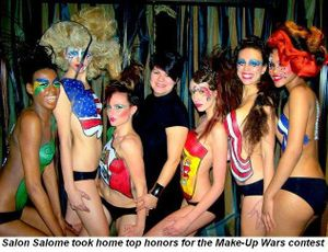 Gallery - Salon Salome took home top honors for the Make-Up Wars contest