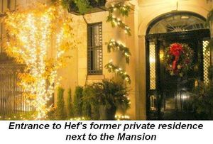 Blog 6 - Entrance to Hefner's former private residence next to the Mansion