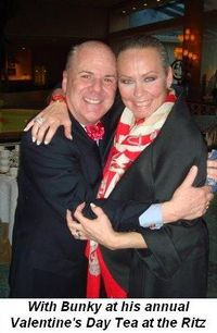 03 - With Bunky at his annual Valentine's Day Tea at the Ritz in February