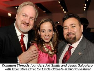 04 - At World Festival with founders Art Smith and Jesus Salguiero and Exec. Director Linda O'Keefe March
