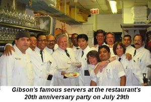 04 - Gibson's famous servers at their 20th Anniversary Party on June 29th