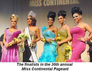 06 - 30th Miss Continenal Pageant finalists on Sept 7th