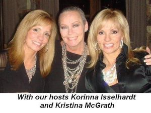 Blog 2 - With our hosts Korinna Isselhardt and Kristina McGrath
