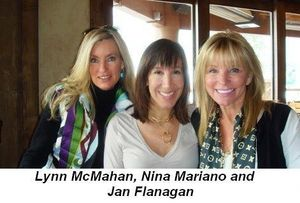 Blog 11 - Lynn McMahan, Nina Mariano and Jan Flanagan