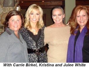 Blog 14 - With Carrie Birkel, Kristina and Julee White