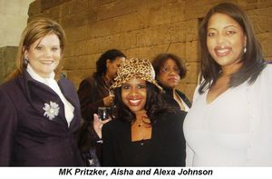 Blog 4 - MK Pritzker, Aisha and Alexa Johnson