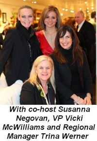 Blog 3 - With co-host Susanna Negovan, VP Vicki McWilliams and Regional Manager Trina Werner