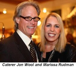 Blog 4 - Caterer Jon Wool and Marissa Rudman
