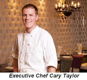 Blog 2 - Executive Chef Cary Taylor