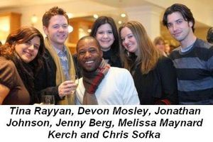 Blog 1 - Tina Rayyan, Devon Mosley, Jonathan Johnson, Jenny Berg and Chris Sofka