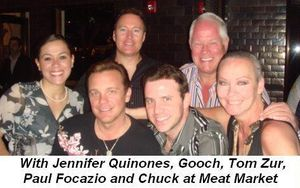 Blog 9 - With Jennifer Quinones, Gooch Gurciullo, Tom Zur, Paul Focazio and Chuck at Meat Market