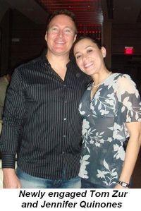 Blog 11 - Newly engaged Tom Zur and Jennifer Quinones