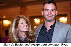 Blog 9 - Mary Jo Basler and Design Guru Jonathan Ryan