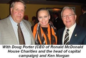 Blog 2 - With Doug Porter, CEO of Ronald McDonald House Charities and head of capital campaign, and Ken Norgan