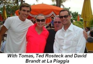 Blog 5 - With Tomas, Ted and David Brandt at La Piaggia