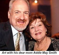 Blog 4 - Art with his dear mom Addie May Smith