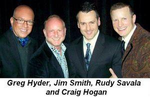 Blog 5 - Greg Hyder, Jim Smith, Rudy Savala and Craig Hogan