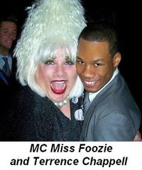 Blog 6 - MC Miss Foozie and Terrence Chappell