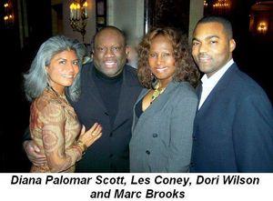 Blog 3 - Diana Palomar Scott, Les Coney, Dori Wilson and Marc Brooks
