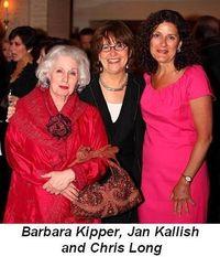 Blog 9 - Barbara Kipper, Jan Kallish and Chris Long