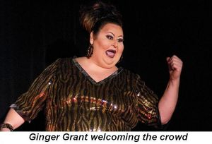 Blog 8 - Ginger Grant welcoming the crowd