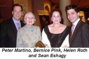 Blog 3 - Peter Martino, Bernice Pink, Helen Roth and Sean Eshagy