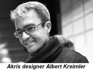 Akris designer Albert Kreimler