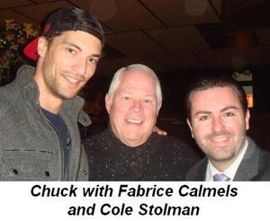 Blog 7 - Chuck with Fabrice Calmels and John Walcher