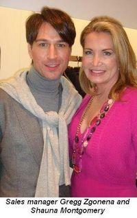 Blog 5 - Sales Manager Gregg Zgonena and Shauna Montgomery