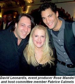 Blog 1 - David Leonardis, Rose Mandel-Event Producer and Fabrice Calmels-Host Committee
