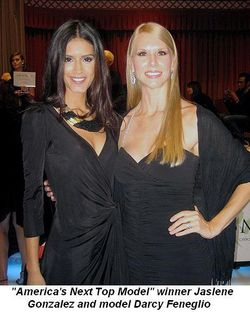 Blog 2 - America's Next Top Model Winner Jaslene Gonzalez and Model Darcy Feneglio