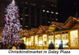 Blog 2 - Christkindlmarket in Daley Plaza