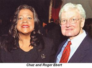 Chaz and Roger Ebert