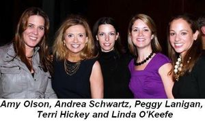 Blog 11 - Amy Olson, Andrea Schwartz, Peggy Lanigan, Terri Hickey and Linda O'Keefe