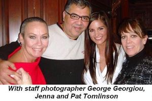 Blog 4 - With staff photographer George Georgiou, Jenna and Pat Tomlinson