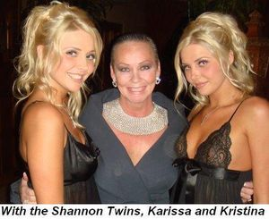 Blog 19 - With the Shannon Twins, Karissa and Kristina