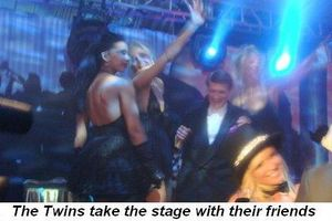 Blog 30 - The Twins taking the stage with their friends