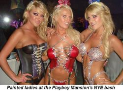 02 - Painted ladies for NYE at the Mansion in LA