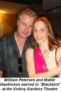 02 - William Peterson and Mattie Hawkinson appeared in Blackbird at the Victory Gardens Theatre on July 13th