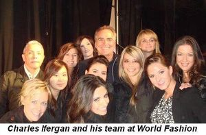 08 - Charles Ifergan and his team at World Fashion on Sept 30th